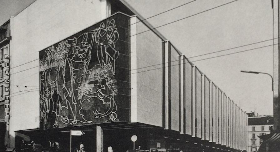 La Placette de Pierre Braillard, Un projet d'urbanisme à Genève (1958-1967)