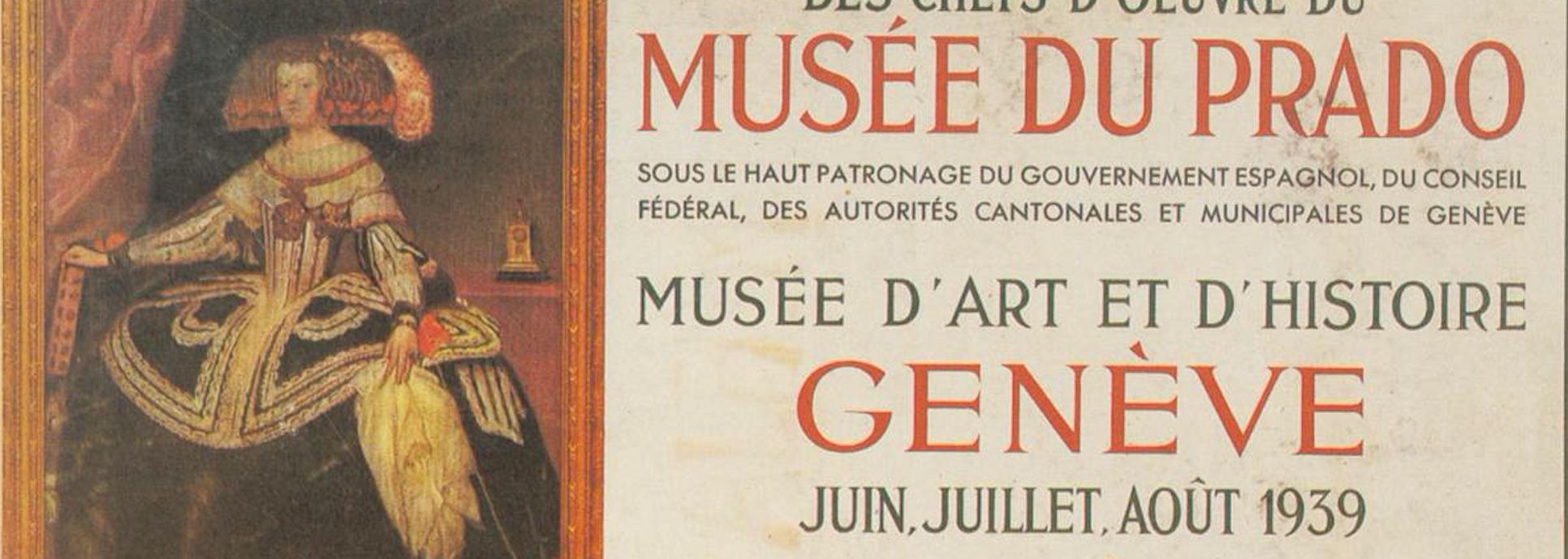 Les Chefs-d'œuvre du Prado à Genève : une exposition refoulée?